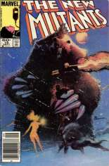 New Mutants (1983-1991) #19 Variant A: Newsstand Edition