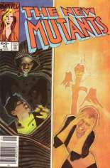 New Mutants (1983-1991) #23 Variant A: Newsstand Edition