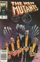 New Mutants (1983-1991) #24 Variant A: Newsstand Edition