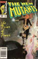 New Mutants (1983-1991) #25 Variant A: Newsstand Edition