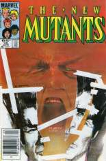 New Mutants (1983-1991) #26 Variant A: Newsstand Edition