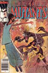 New Mutants (1983-1991) #27 Variant A: Newsstand Edition
