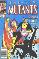 New Mutants (1983-1991) #35 Variant A: Newsstand Edition
