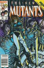 New Mutants (1983-1991) #36 Variant A: Newsstand Edition