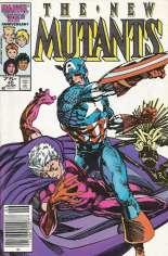 New Mutants (1983-1991) #40 Variant A: Newsstand Edition