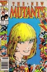 New Mutants (1983-1991) #45 Variant A: Newsstand Edition