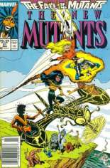 New Mutants (1983-1991) #61 Variant A: Newsstand Edition