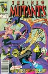 New Mutants (1983-1991) #76 Variant A: Newsstand Edition