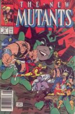 New Mutants (1983-1991) #78 Variant A: Newsstand Edition