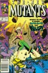 New Mutants (1983-1991) #79 Variant A: Newsstand Edition