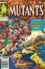 New Mutants (1983-1991) #81 Variant A: Newsstand Edition