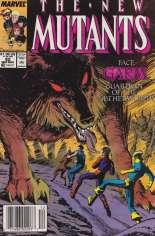 New Mutants (1983-1991) #82 Variant A: Newsstand Edition