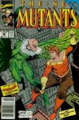 New Mutants (1983-1991) #86 Variant A: Newsstand Edition