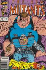 New Mutants (1983-1991) #88 Variant A: Newsstand Edition