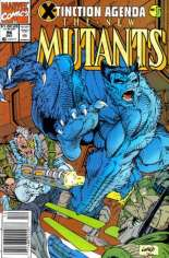 New Mutants (1983-1991) #96 Variant A: Newsstand Edition