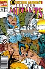 New Mutants (1983-1991) #97 Variant A: Newsstand Edition