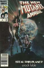 New Mutants (1983-1991) #Annual 1 Variant A: Newsstand Edition