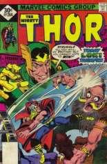 Thor (1966-1996) #264 Variant C: Whitman Variant