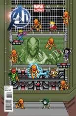 Avengers A.I. (2013-2014) #1 Variant E: 1:25 8-Bit Cover
