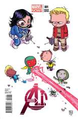Avengers A.I. (2013-2014) #1 Variant C: Baby Cover