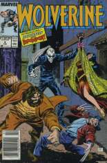 Wolverine (1988-2003) #4 Variant A: Newsstand Edition