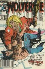 Wolverine (1988-2003) #10 Variant A: Newsstand Edition