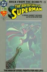 Adventures of Superman (1987-2006) #500 Variant G: Platinum Edition; Not Polybagged