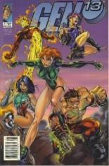 Gen 13 (1995-2002) #1 Variant A: Newsstand Edition; Charge! Cover