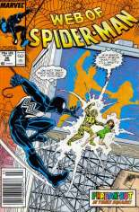 Web of Spider-Man (1985-1995) #36 Variant A: Newsstand Edition