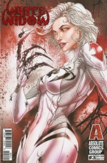 White Widow #3 Variant A: Retail Claws Out Red Foil Edition