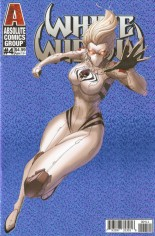 White Widow #4 Variant A: Retail Blue Foil Edition