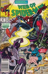 Web of Spider-Man (1985-1995) #91 Variant A: Newsstand Edition