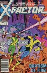 X-Factor (1986-1998) #1 Variant A: Newsstand Edition