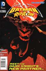 Batman and Robin (2011-2015) #19 Variant A: Titled ''Batman and Red Robin''; Newsstand Edition