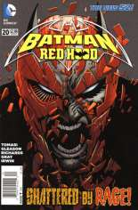 Batman and Robin (2011-2015) #20 Variant A: Titled ''Batman and Red Hood''; Newsstand Edition