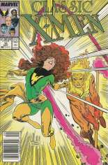 Classic X-Men (1986-1990) #13 Variant A: Newsstand Edition