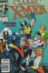 Classic X-Men (1986-1990) #15 Variant A: Newsstand Edition