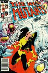New Mutants (1983-1991) #15 Variant C: 75 Cent Variant