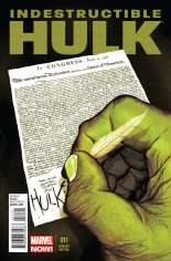 Indestructible Hulk (2013-Present) #11 Variant B: Time Travel Cover