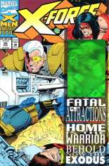 X-Force (1991-2002) #25 Variant A: Newsstand Edition; Cable Hologram on Cover