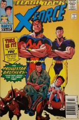 X-Force (1991-2002) #-1 Variant A: Newsstand Edition