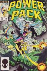 Power Pack (1984-1991) #10 Variant B: Direct Edition