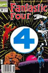 Fantastic Four (1961-1996) #358 Variant A: Newsstand Edition; Die-Cut Cover