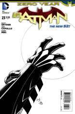 Batman (2011-2016) #23 Variant D: Sketch Cover