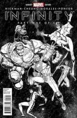 Infinity (2013-2014) #1 Variant I: 1:150 Hero Sketch Cover