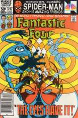 Fantastic Four (1961-1996) #237 Variant A: Newsstand Edition