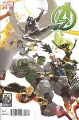 Avengers (2012-2015) #18 Variant B: Avengers 50th Anniversary Cover