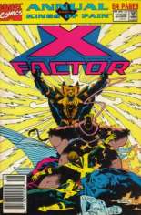 X-Factor (1986-1998) #Annual 6 Variant A: Newsstand Edition