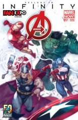 Avengers (2012-2015) #17 Variant B: FanExpo Exclusive; Limited to 1200 Copies
