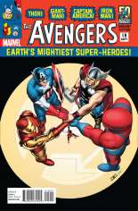 Avengers (2012-2015) #19 Variant B: Avengers in the 1960s Cover